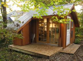 House Backyard Tiny House A Backyard Sanctuary In Missouri Modern