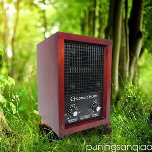 ozone generator air purifier ionizer deodorizer with 2 ceramic ozone plates ebay