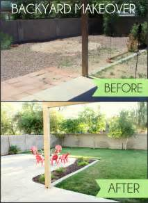Easy Curb Appeal Ideas - backyard makeover