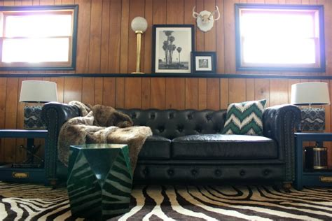 70s Wood Paneling by Five Ways To Decorate A Room With Wood Paneling