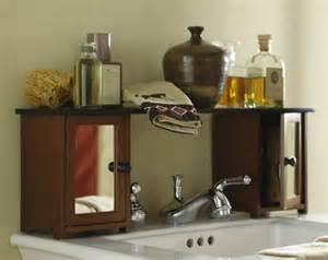 Bathroom furniture sets mirrored over the sink bathroom storage shelf
