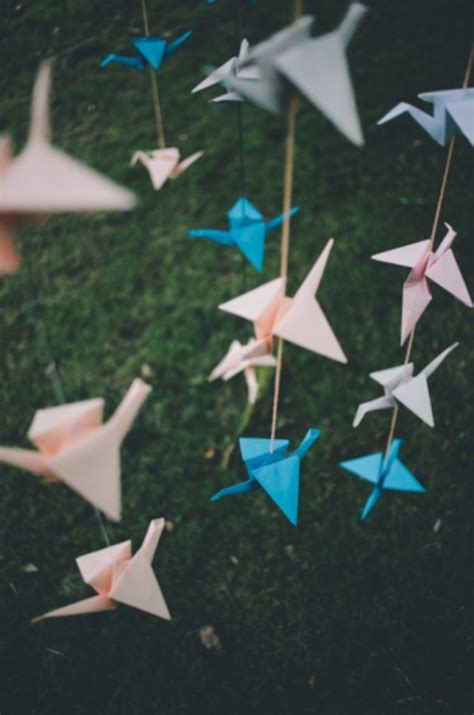 Diy Origami Crane - diy tutorial origami cranes