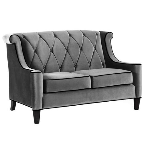 modern grey velvet sofa modern grey velvet upholstered new living room lounge