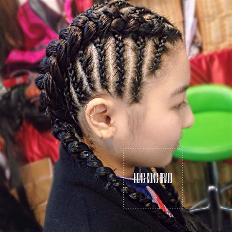 Braided Protective Hairstyles by Cornrows Braided To The Sides Protective Hairstyles
