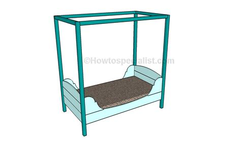 toddler bed plans toddler bed plans howtospecialist how to build step