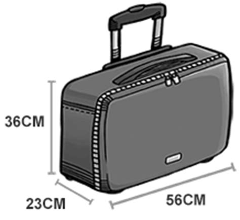 Allowed Cabin Baggage Size by Airasia Cabin Baggage What You Can Bring Onboard