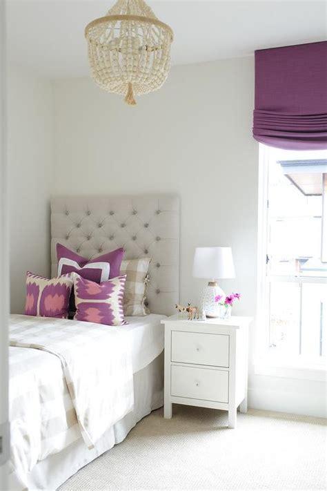 purple girls bedroom tan and purple girls bedroom with one nightstand