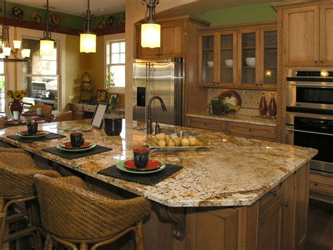 beautiful kitchen islands beautiful kitchen island photos decobizz com