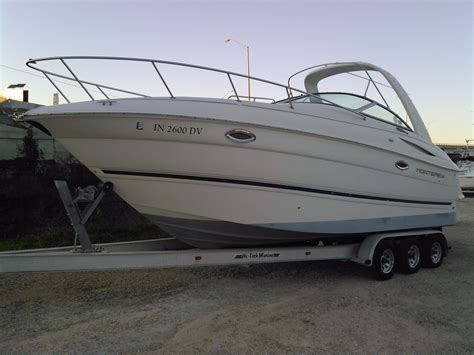 monterey used boats florida 2003 used monterey 265 cruiser boat for sale 34 499