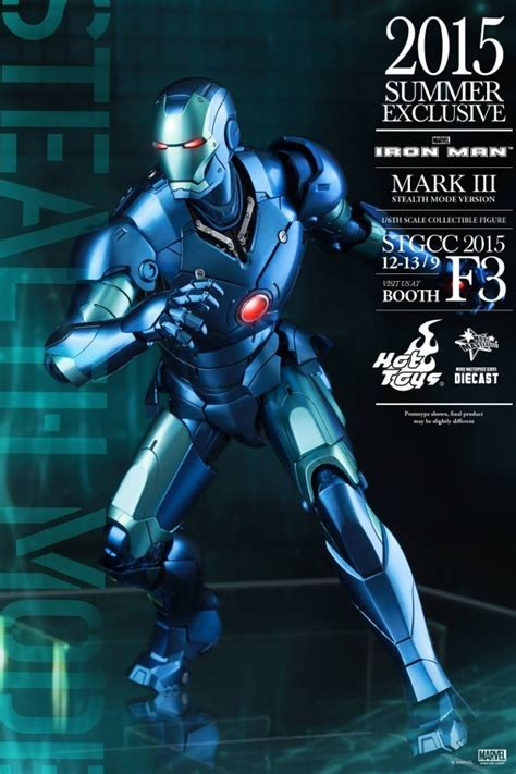 Ironman 3 Stealth Toys Exclusive Iron Iii toys fair exclusive iron stealth mode 1 6th