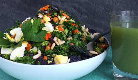 Chopped Detox Salad by Chopped Detox Salad Recipe Eggland S Best