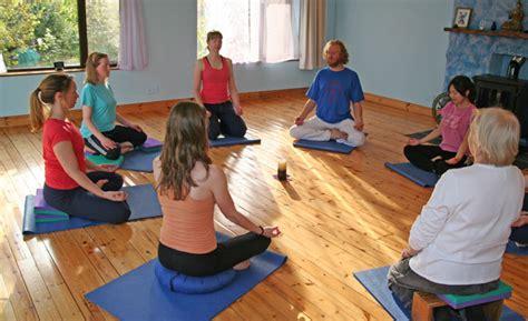 Calming Breath Meditation Stool by Satyananda Ireland