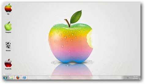 pc themes apple simply apple theme for windows 7 and windows 8