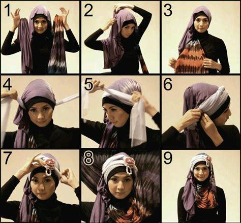 Jilbab Segi Empat Dibuat Pashmina cara memakai jilbab pashmina sifon pesta