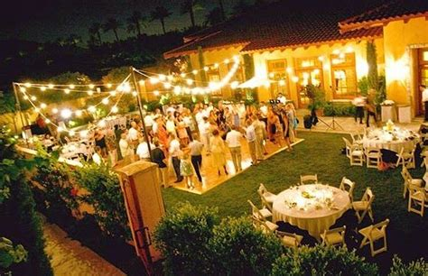 Planning A Backyard Wedding On A Budget by 1000 Ideas About Backyard Wedding Receptions On
