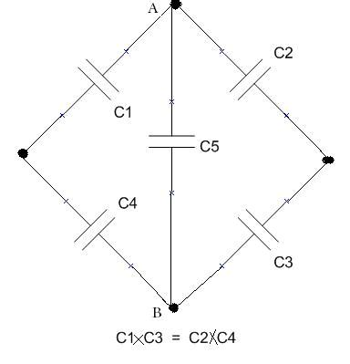 wheatstone bridge balanced condition homework and exercises wheatstone bridge capacitor dead capacitor physics stack exchange