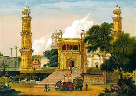 Islamic Artworks 1 mosque muslim islamic paintings landscape painting