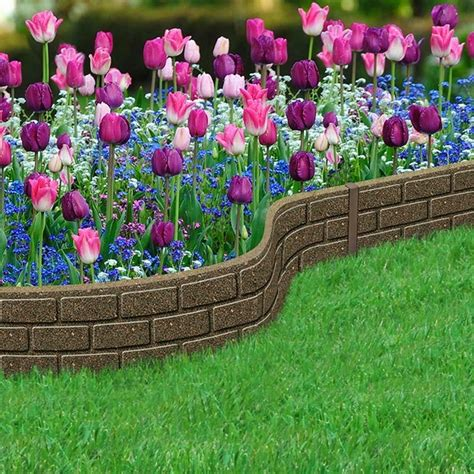 Rubber Landscape Edging Uk Gorgeous Landscape Designs And Modern Garden Edging Ideas