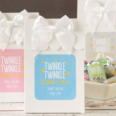 personalized candies for baby shower personalized baby shower themed bags