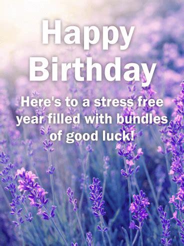 pretty lavender happy birthday card birthday greeting