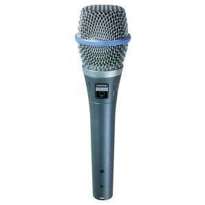 Microphone Krezt Beta 59 shure beta 87a condenser vocal microphone