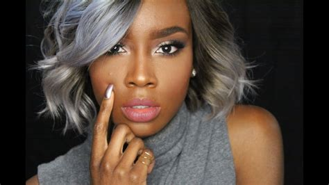 gray skin color best hair color to cover gray american hair hair