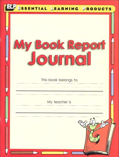 book cover book report my book report journal gr 1 3 033522 details rainbow