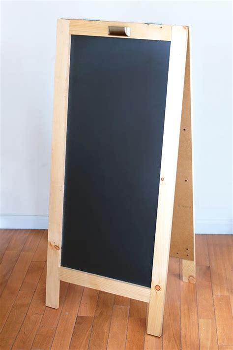 diy chalkboard easels diy chalkboard the home depot easels chalkboard for