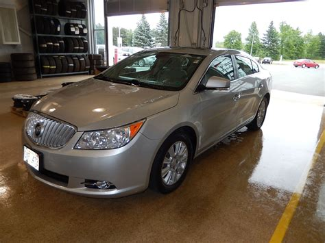 used buick lacrosse 2010 used 2010 buick lacrosse cxl in miramichi used inventory
