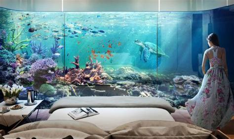 amazing villa  floating apartments complete  underwater levels