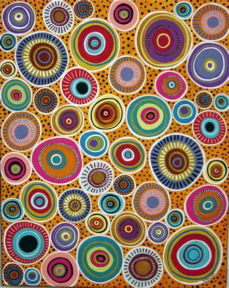 abstract paintings with circles circles abstract painting
