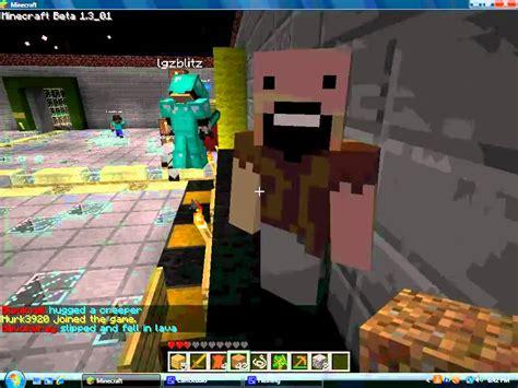 notch s notch minecraft server youtube