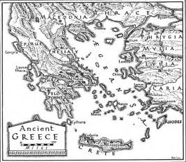 Historical Outline Map 7 Ancient Greece Answers by Map Of Ancient Greece Free Printable Maps