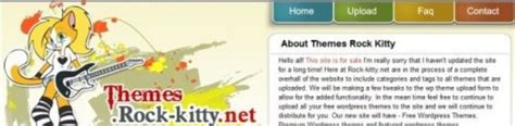Themes Rock Kitty | top 20 websites to download free wordpress themes