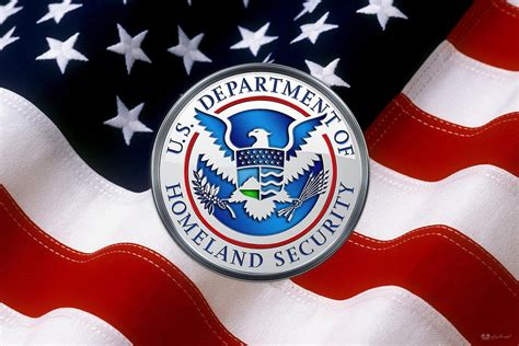 u s department of homeland security d h s emblem