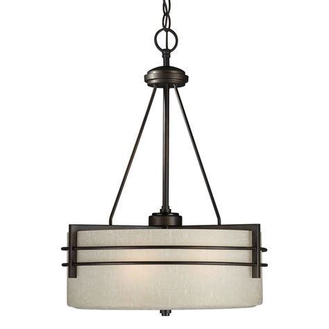 Forte Lighting 3 Light Indoor Bowl Large Pendant Antique Large Pendant Lights
