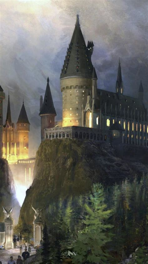 artwork hogwarts wallpaper