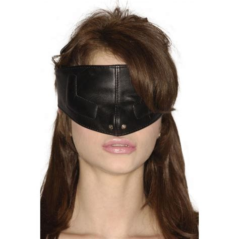 24219 Harness Hollow Sm strict leather mask sm excitingfetishtoys