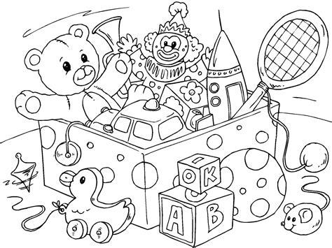 dibujos infantiles juguetes dibujo para colorear juguetes img 22827