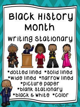 black history month writing paper black history month writing paper black by the thrill