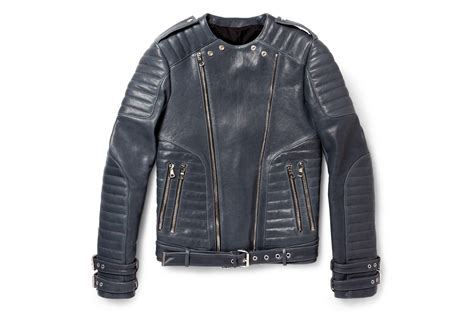 leather biker jacket balmain leather biker jacket hypebeast