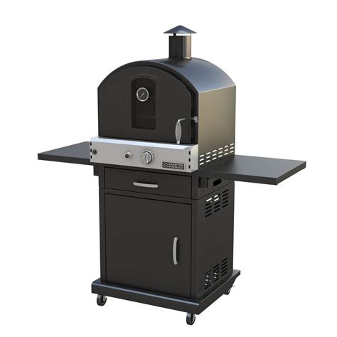 3 in 1 outdoor modular master forge 16 000 btu modular gas pizza oven bg070 lowe s canada