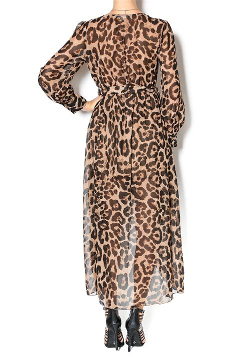 Leopard Print For The Ooh La La Baby by Miss Avenue Leopard Print Dress From California By Ooh La