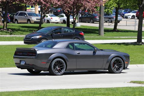 widebody hellcat factory widebody challenger srt hellcat to launch soon