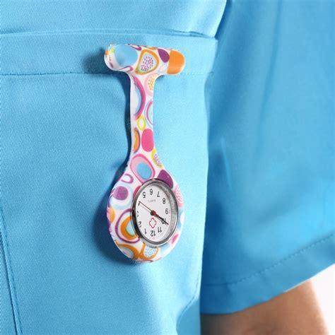 montre infirmiere multicolor