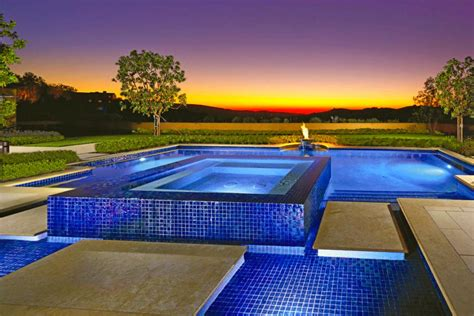 pool landscaping ideas hgtv 16 landscape ideas that use water features hgtv