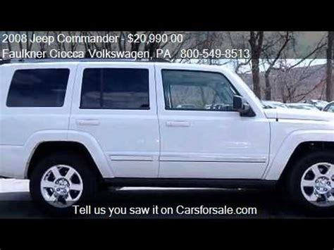 faulkner volkswagen allentown 2008 jeep commander limited for sale in allentown pa