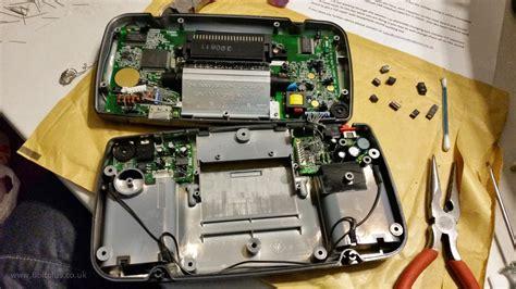 replacing capacitors sega gear sega gear capacitors replacement