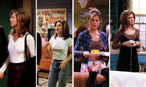gif  rachel green outfits