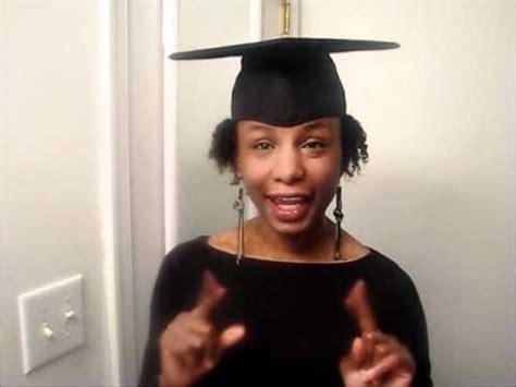 Santasha's Styles: Graduation Cap Hairstyle   YouTube
